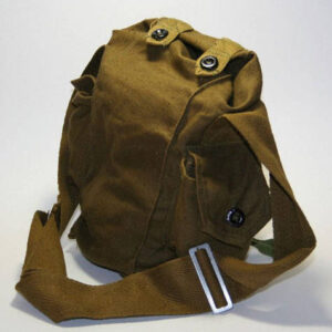 USSR WW2 Soviet Russian Gp-5 Gas Mask Respirator Canvas Bag Beach Metro Self Travel Fotos camera Military Army Indiana Jones Vintage new